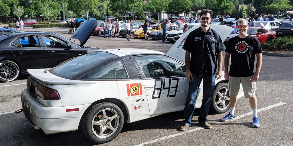 """How car-loving Googlers turned a """"lemon"""" into lemonade with a $300  they spent months fixing up to race → http://goo.gle/2JuXpxo"""