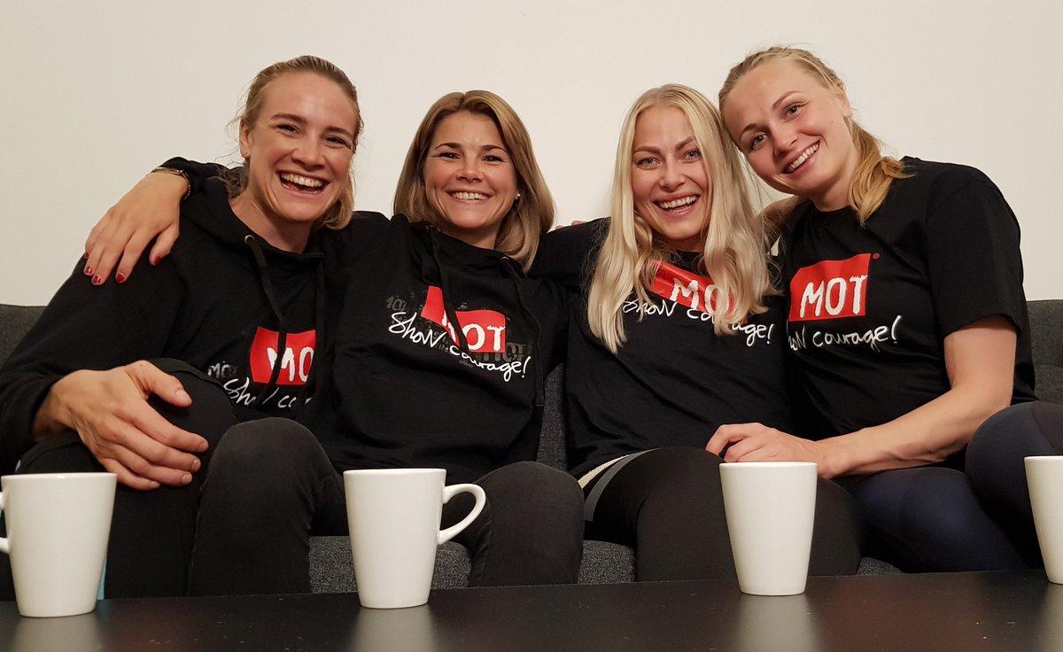 Deilig og inspirerende at Norge har så reflekterte og tøffe damer som de her. Bein i nesa 💪🏼