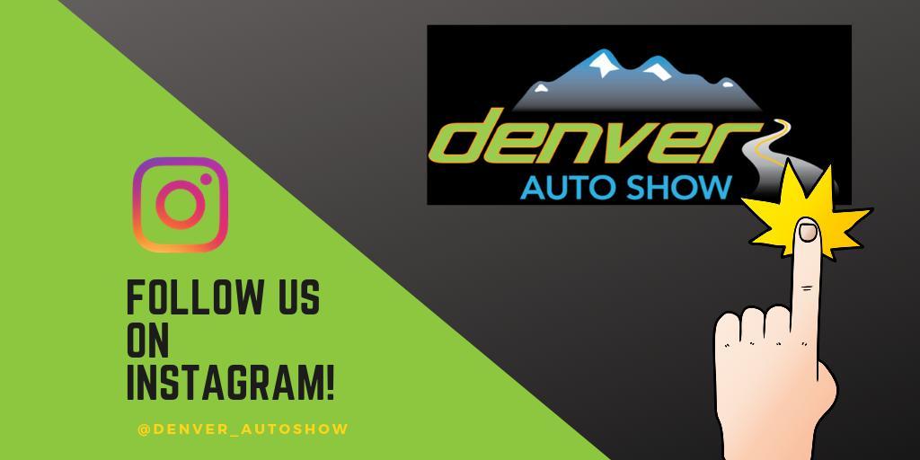 Denver Auto Show 2020.Denver Auto Show On Twitter Happy Monday Everyone Are