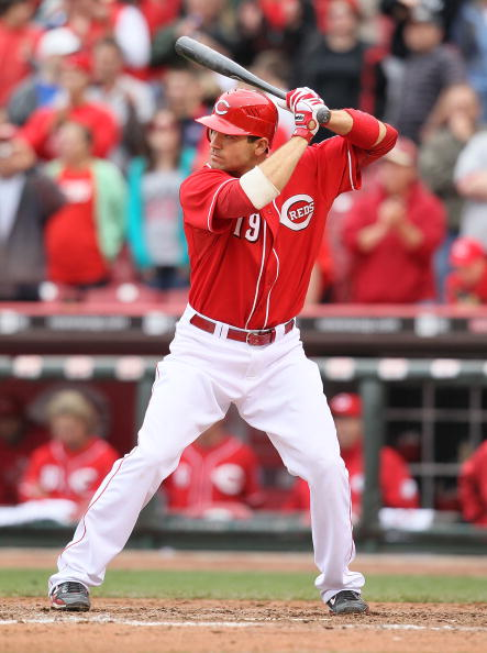 I've been scrolling through Getty Images of Votto through the years. 2010.....a confident, intimidating Votto#Reds