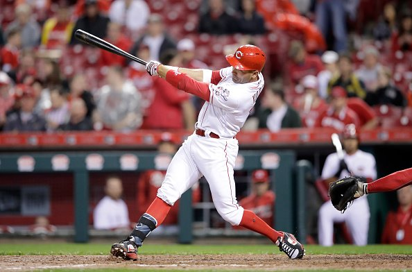 2017 Votto..Last time you saw him let it rip like this?#Reds