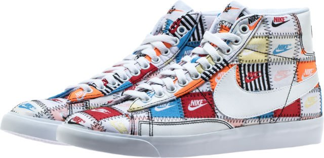 sale retailer 8c13a fbeaa ... premium leather for a classic look and feel. NIKE BLAZER MID MENS  LIFESTYLE SHOE (WHITE MULTI COLOR) - http   bit.ly 2Jx306i pic.twitter .com YDHWBPdlIk
