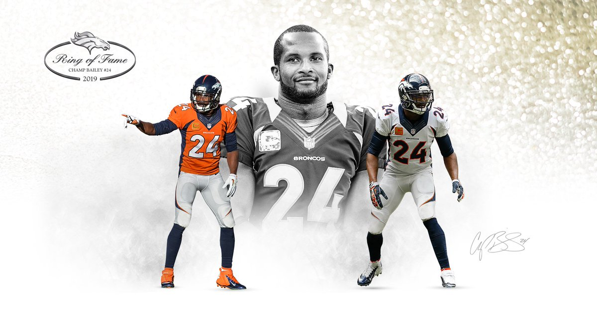 Our 2019 #BroncosROF electee is none other than @champbailey!   Congrats, Champ    »  http:// dbron.co/eu7  &nbsp;  <br>http://pic.twitter.com/Ll5cuzPm9l