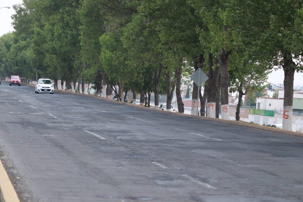 Te recordamos que a partir hoy, se inicia con la reconstrucción del Bulevar Nuevo Hidalgo, en el tramo: Puente El Venado al entronque con Bulevar Revolución 1910 en el municipio de Pachuca. Los trabajos se realizarán de 5:00 pm a 3:00 am. ¡Extrema precauciones!