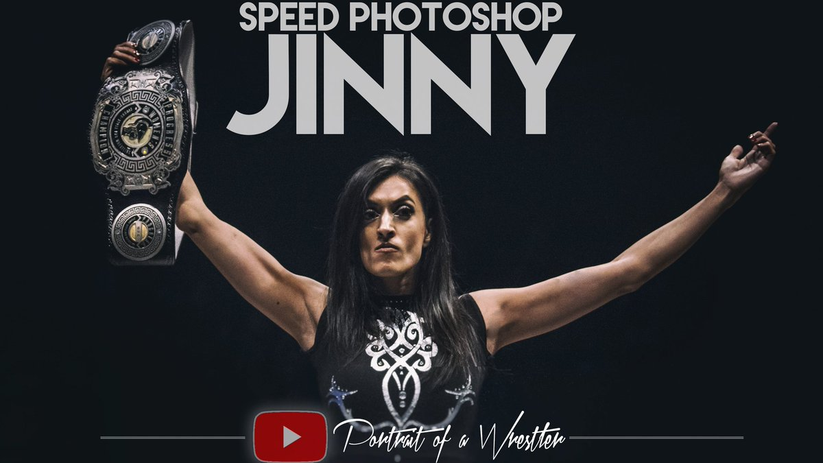 Sometimes.... ring ropes just get in the way.Check out how we 'made' this image of @JinnyCouture to creat the perfect champions portrait of THE QUEEN!https://youtu.be/wJyKS2gYb38