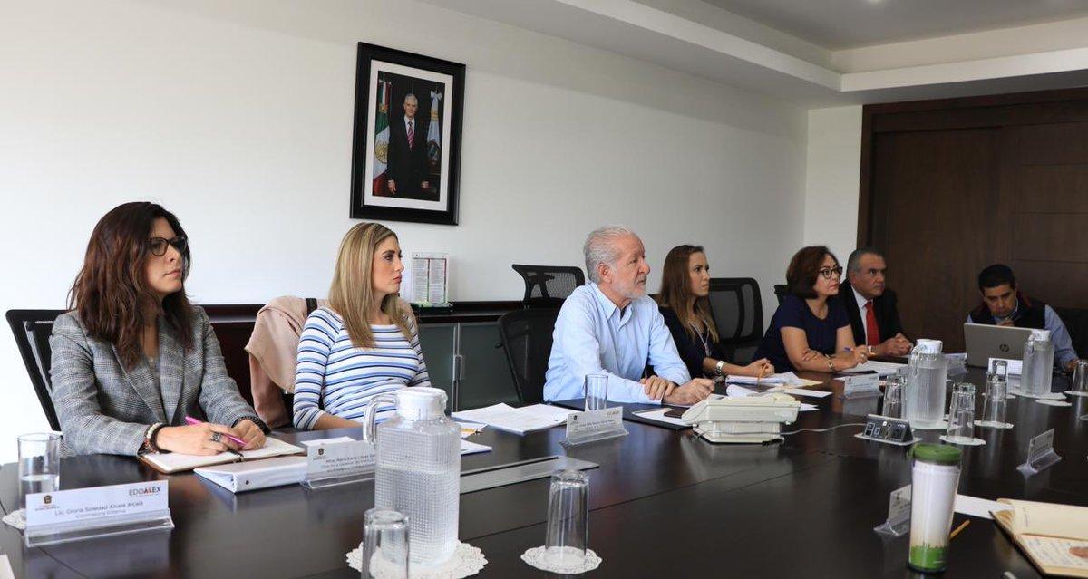 Esta mañana, en reunión de Directores de @AmbienteEdomex, evaluamos las acciones que cada una de las áreas está realizando para mejorar la protección de nuestros recursos naturales para construir un #EdoméxFuerte.