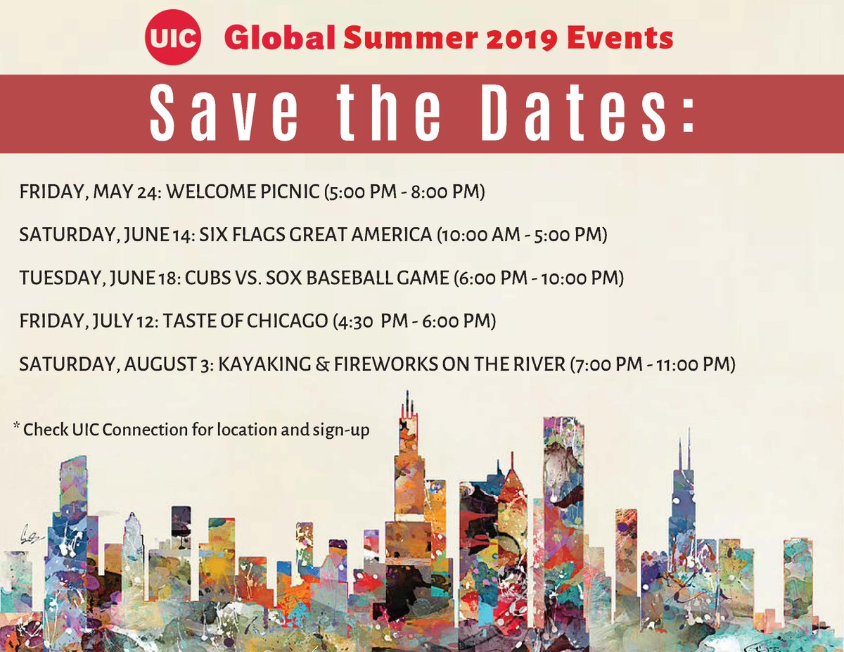 Uic Summer 2020.Uic Global Uicglobal ট ইট র