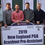 Image for the Tweet beginning: Your 2019 New England PGA