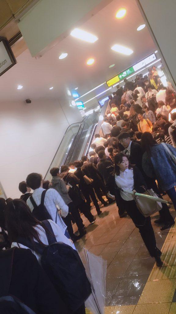 画像,武蔵中原駅死滅しました https://t.co/EOtIXbrB7z。