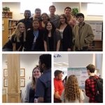 Image for the Tweet beginning: Our AP Research students presented