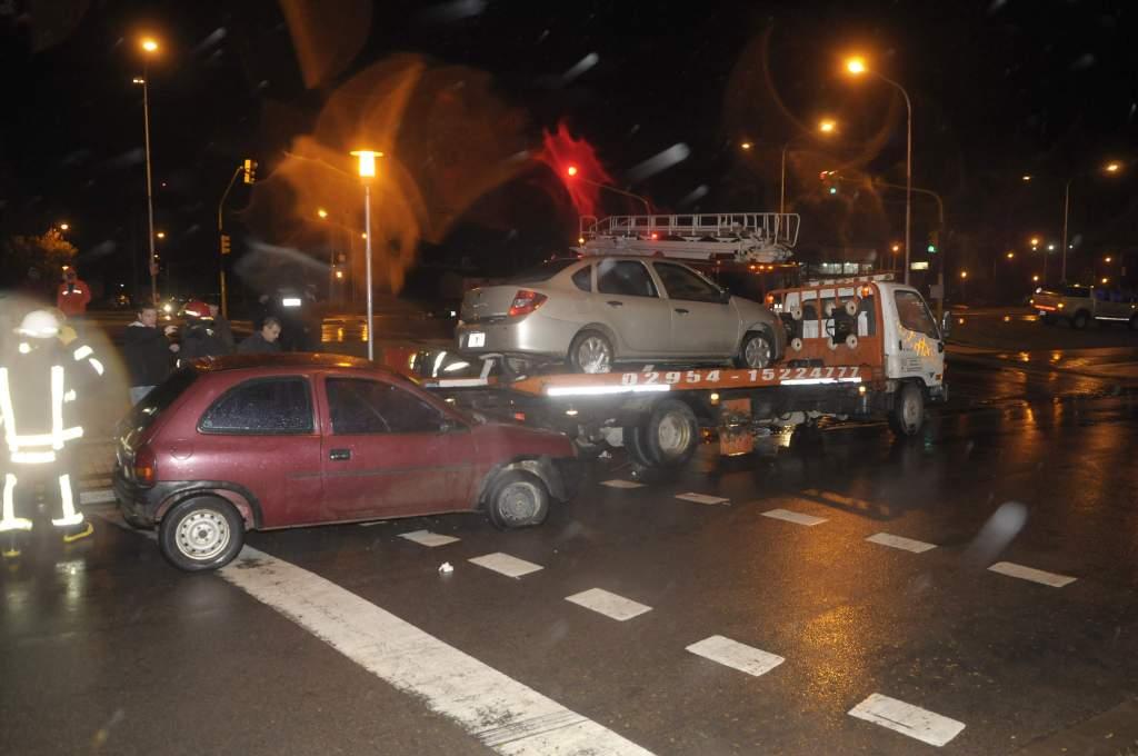 #SantaRosa | Le amputaron la pierna a un trabajador al ser arrollado por un auto en la avenida Luro