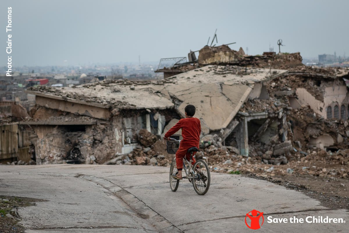 Somewhere in the world, war and conflict is having a devastating effect on children. Join us as we take a stand to #StopTheWarOnChildren: http://www.stopwaronchildren.org/