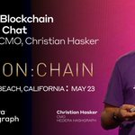Image for the Tweet beginning: Join Hedera @hashgraph's CMO, Christian