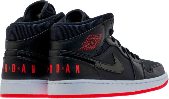 huge discount caff6 07143 the air jordan 1 mid premium bred is a high quality construction of the  classic silhouette