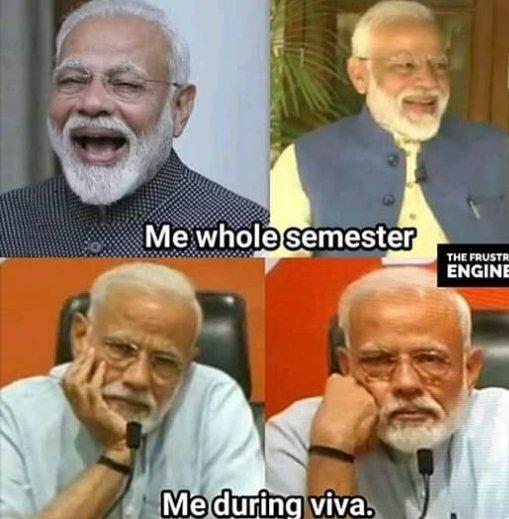 #studentgoals #ModiAgain #ModiHaiTohMumkinHai #Modiji #MEMES @narendramodi @PMOIndia @VijayGoelBJP #IndianElections2019 @ANI @AmitShah #ElectionCommission #indianelections #IndiaElections2019   Real student goals
