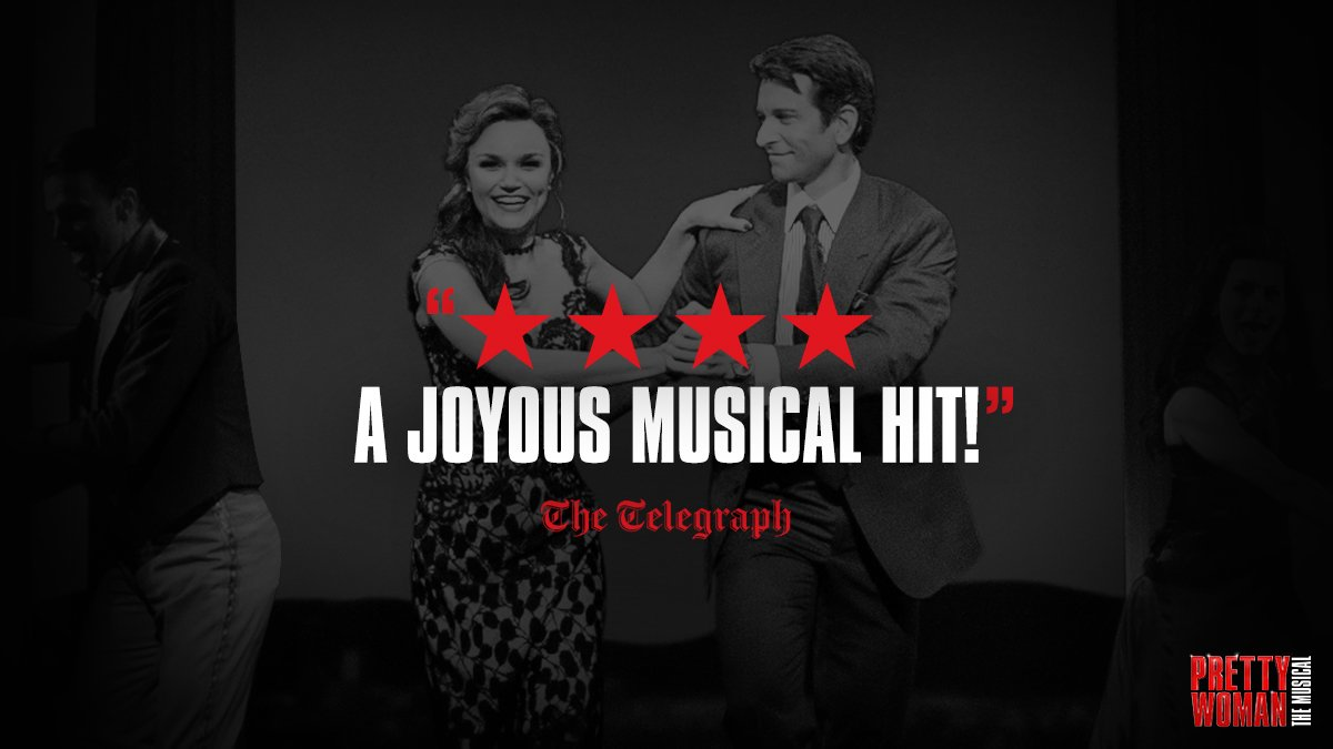 Dance the night away at #PrettyWomanTheMusical on #Broadway! @Telegraph  http:// prettywomanthemusical.com/tickets  &nbsp;  <br>http://pic.twitter.com/1G8gVgYBMw