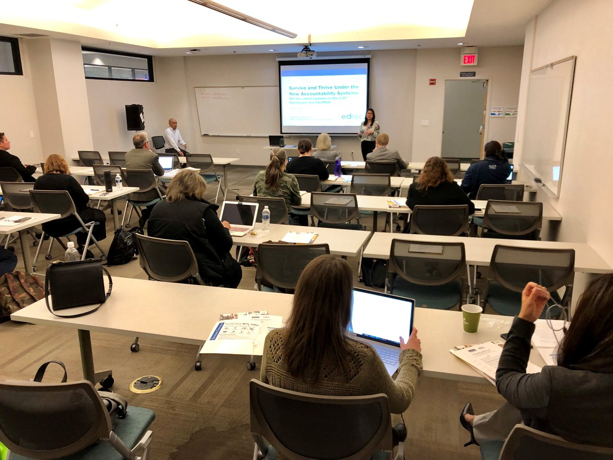 Thank you to all the school leaders who attended the YM&amp;C/EdTec Charter Leadership Forums earlier this month! We had a great turnout and enjoyed sharing financial and legal updates as well as the latest on LCAP, CALPADS, and the CA Dashboard. @mycharterlaw<br>http://pic.twitter.com/2MDMetS0QI