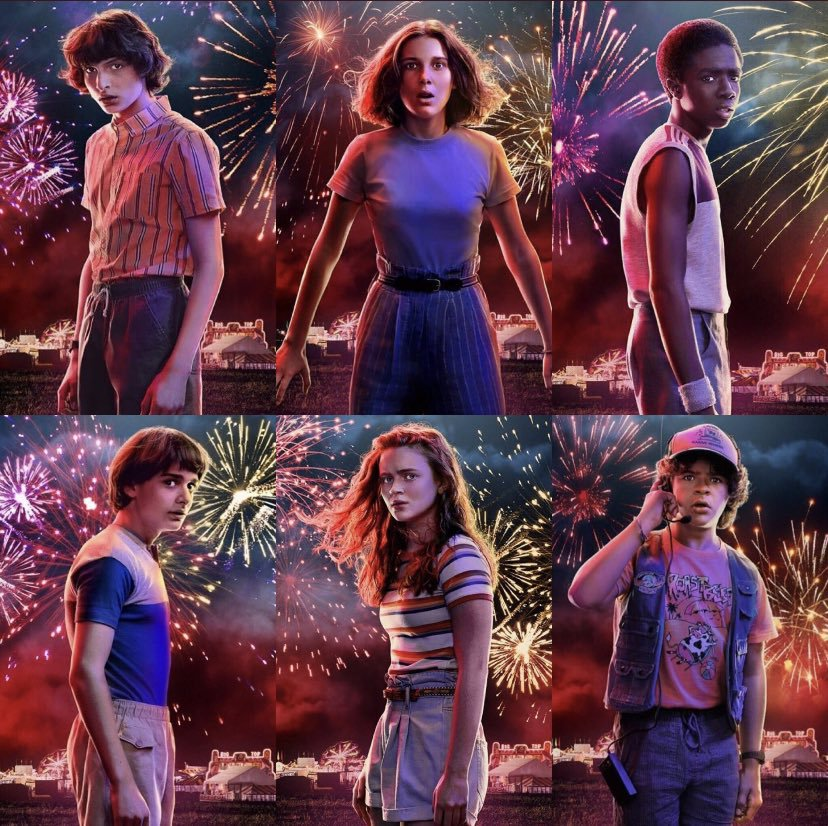 they're not kids anymore. #StrangerThings3
