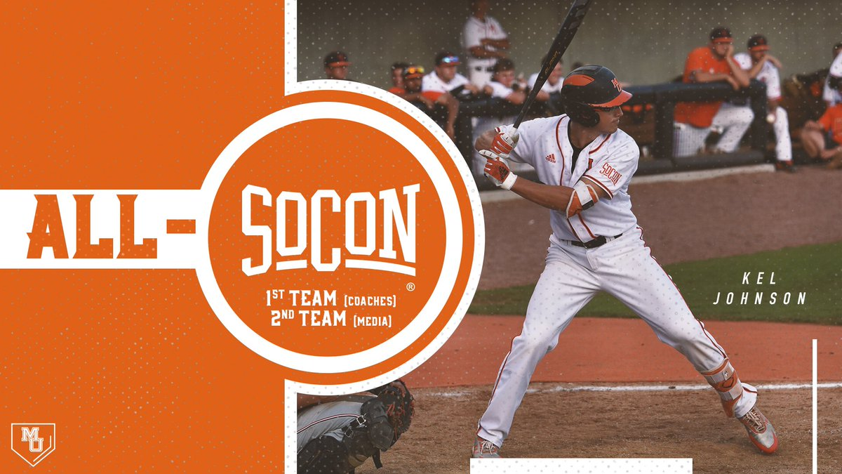 Congrats to our four #SoConBSB all-conference selections!  🔸 @KelJohnson25 🔸 @kfccoulter 🔸 @rj_yeag1 🔸 @AngeloDiSpigna   #RoarTogether  📰: http://bit.ly/2w86u6t