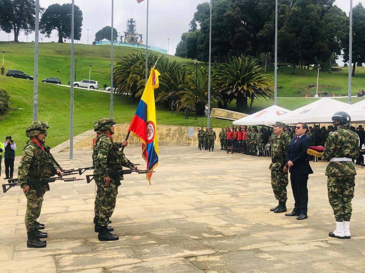 Batallón de Infantería Nº 1 General Simón Bolívar, regresa al Departamento de Boyacá.