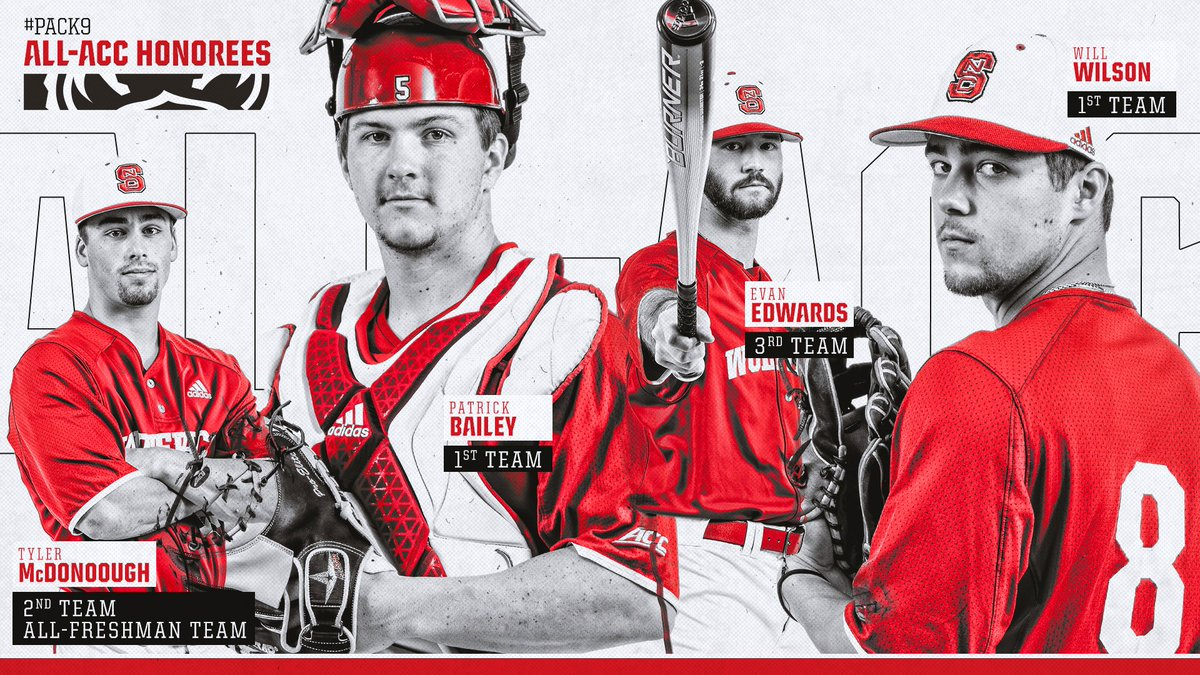 #Pack9 ⚾�'s photo on All-ACC