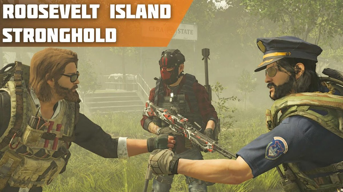 GORGEOUS PEOPLE!   Today's new video involves some world tier 5 action on our favourite 4player game #TheDivision2   We're taking on the Roosevelt Island Stronghold!   https://youtu.be/cmQ3LehTE-A  ⬆️⬆️  Enjoy!  #4PLAY