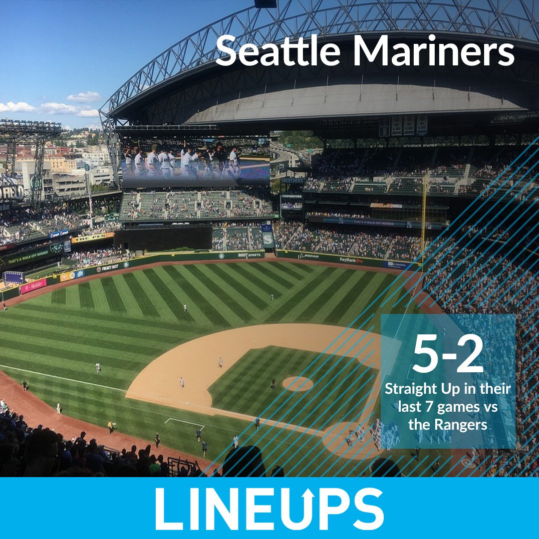 The #Mariners have played some good baseball vs the #Rangers going 5-2 SU in their last 7 meetings. Tonight in Texas the #Mariners are a +128 money line underdog. http://bit.ly/2VwSyS0 #betting #sports #gambling #MLB