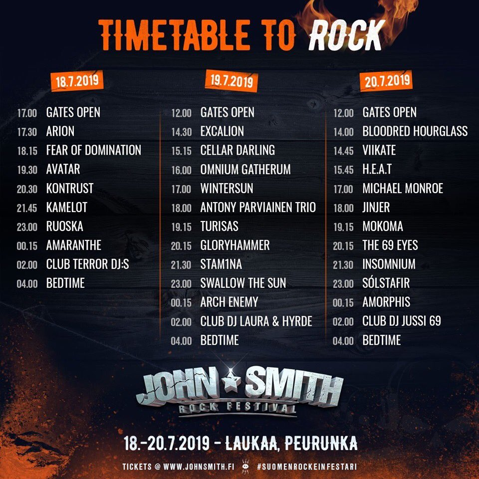 🇫🇮 #johnsmithrockfestival🤘#amorphis #queenoftimetour #queenoftimetour2019 #greybeardcm https://t.co/ndd3taToYN
