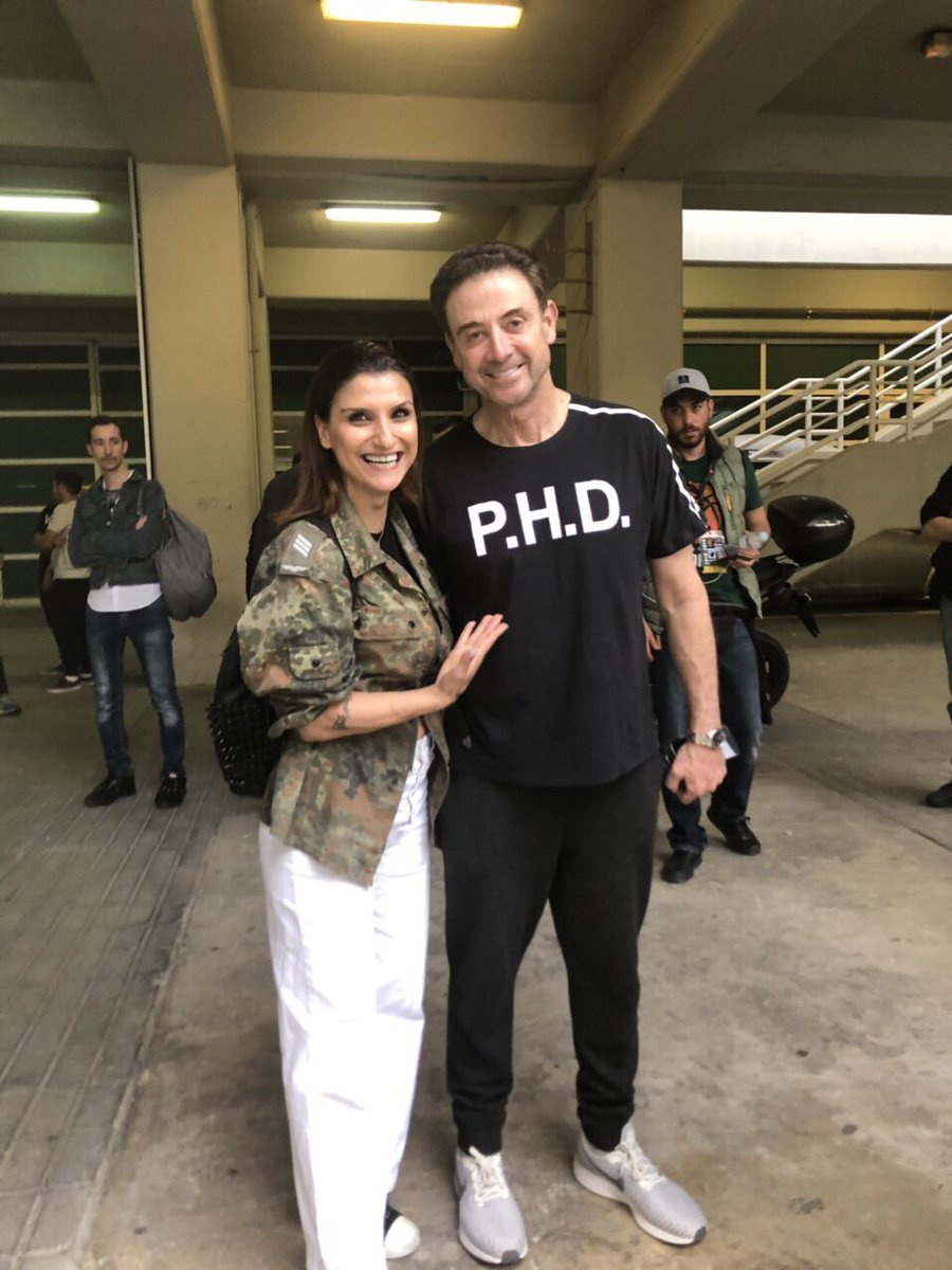 With the one and only Rick Pitino learning the chickens xyno!!! @RealPitino #paobc<br>http://pic.twitter.com/Txx5fPeU7A
