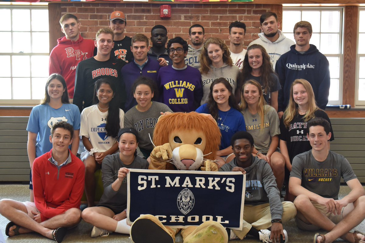 Congratulations to our 23 seniors that will compete at the college level. We are so proud of you! #GoLions #classof2019 @SMLions