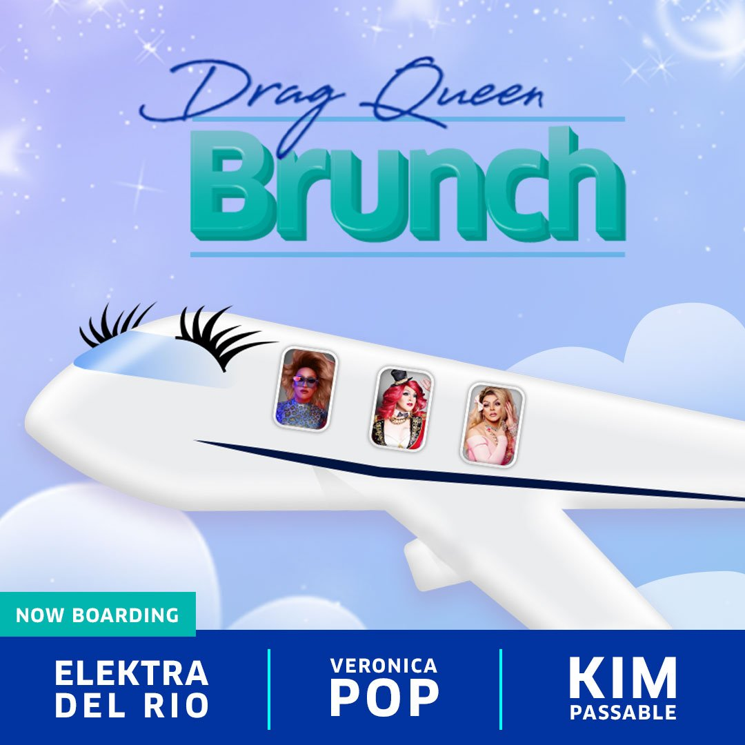 Grab a seat to our drag queen brunch in Chicago on 6/23. All miles redeemed benefit @TrevorProject: http://uafly.co/PrideExclusives