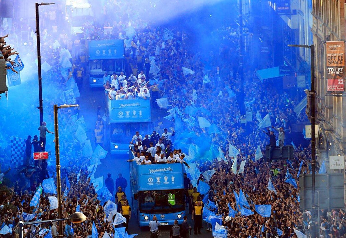 Champions Parade   #FOURMIDABLES