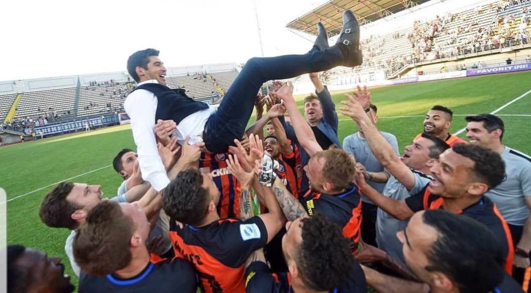 Image result for paulo fonseca ukraine premier league title 2019