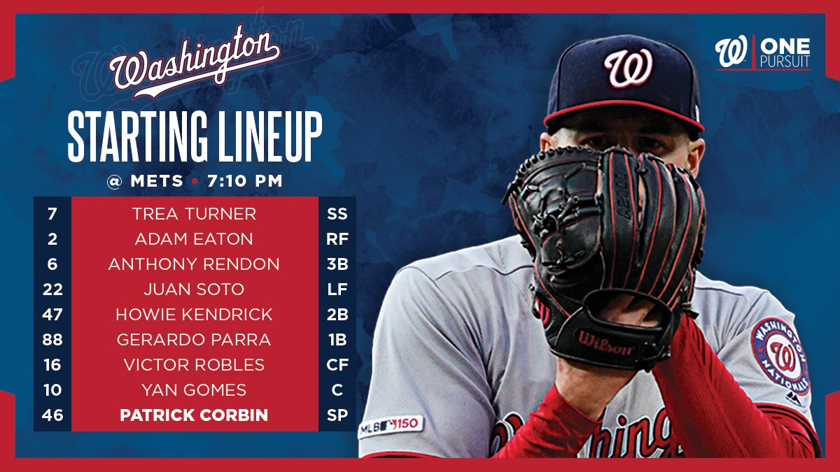 Hidey-ho, neighbor.We start a new series tonight in the Big Apple.#StPatricksDay // #OnePursuit
