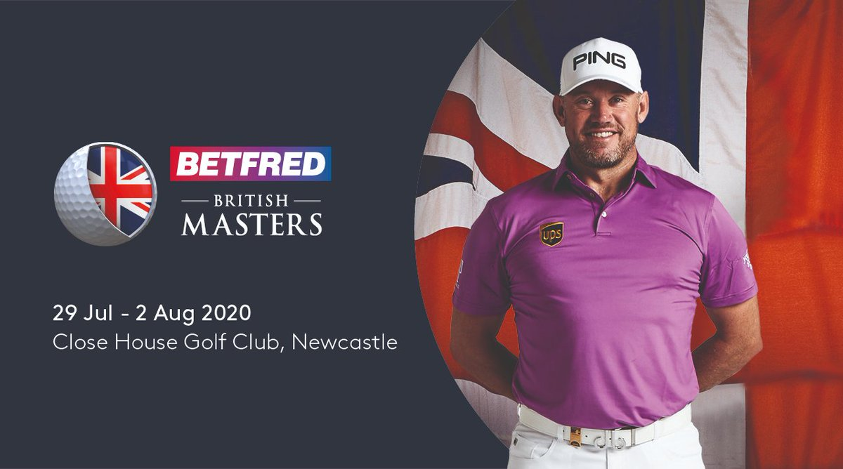 In case you missed it, we're back in 2020 with the @Betfred British Masters @CloseHouseGolf with host @WestwoodLee #BetfredBritishMasters