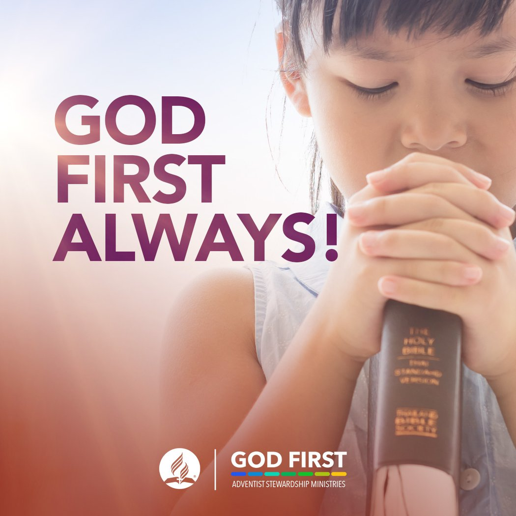 It doesn't matter your circumstances. Make sure to Always Put #GodFirst! #StewardshipMinistries