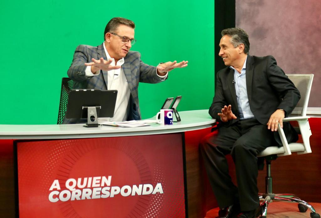 Estoy en estos momentos en entrevista con @jorgegarralda en su programa @aqcazteca para tratar diversos temas sobre la alcaldía de Coyoacán.