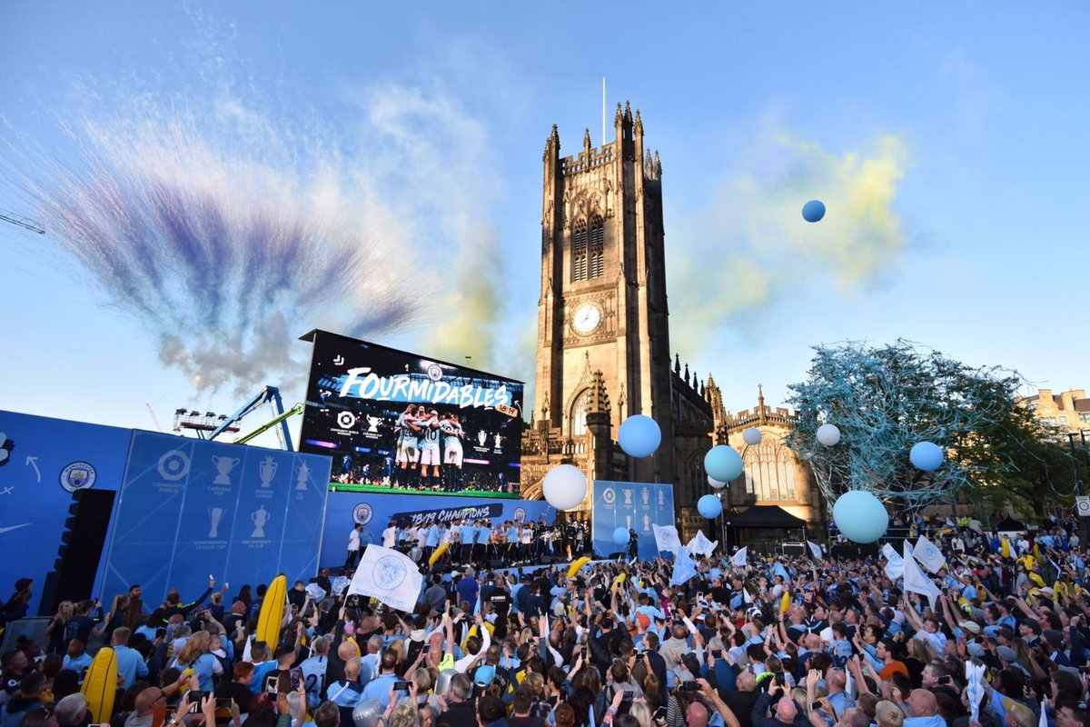 The Pride of Manchester. #MCFC