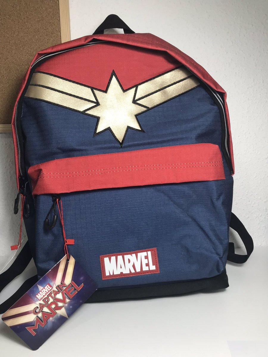 Higher. Further. Faster.  ❤️ si a tu también te gusta esta mochila de #CapitanaMarvel #CaptainMarvel @brielarson @elcorteingles