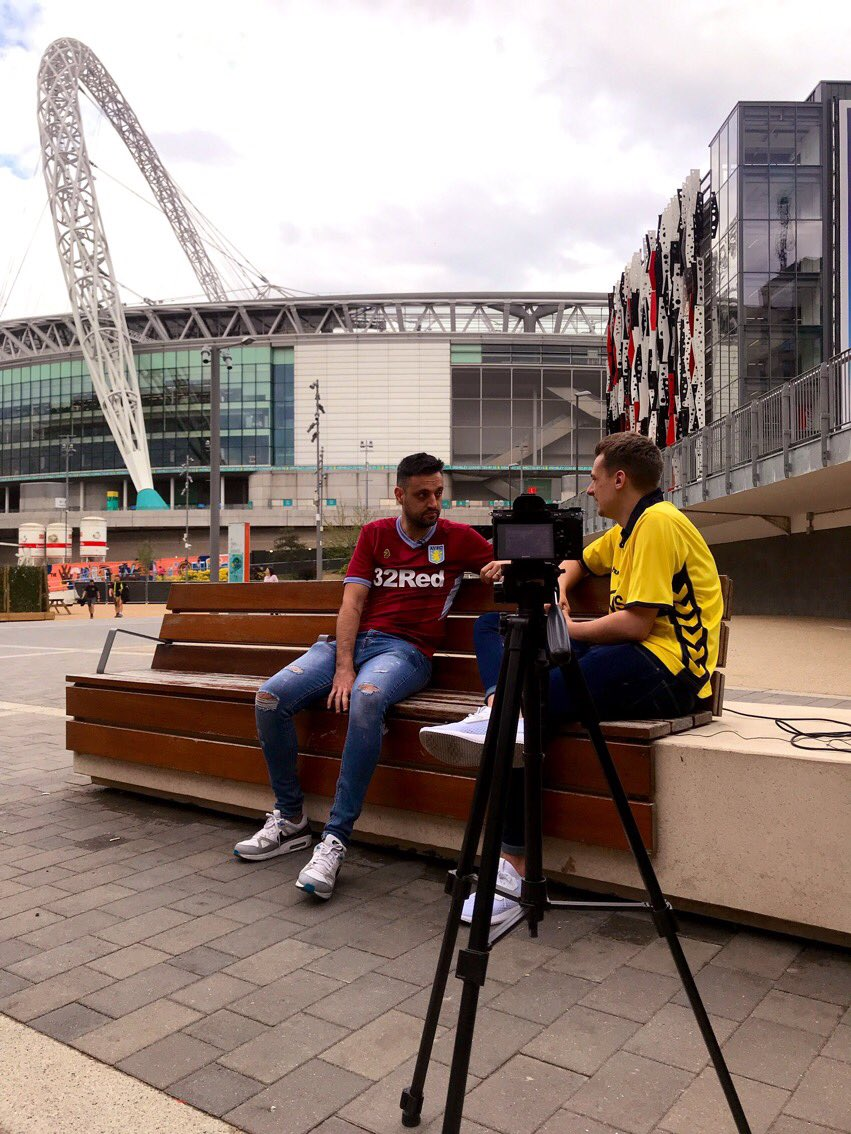 No idea why I was invited back again 👀 Always a pleasure to chat Aston Villa #AVFC