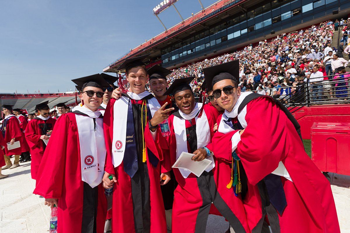 🎓Congratulations to the @RutgersU Class of 2019 and all of the #RUMTF graduates!