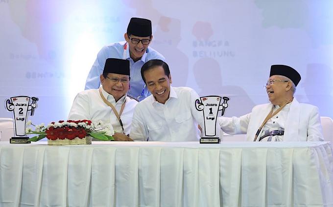 #JokowiAminSudahMenang Photo