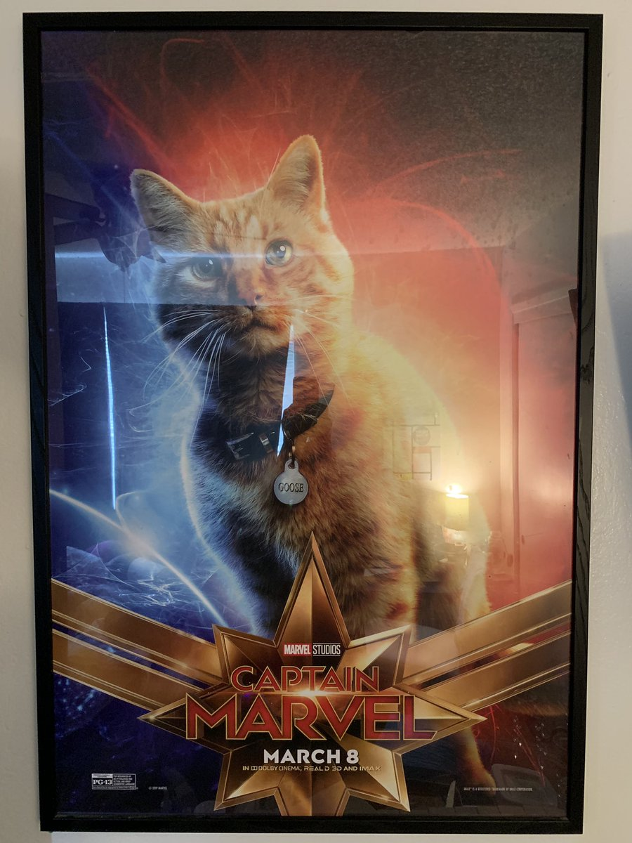 This just arrived! 😄 #CaptainMarvel