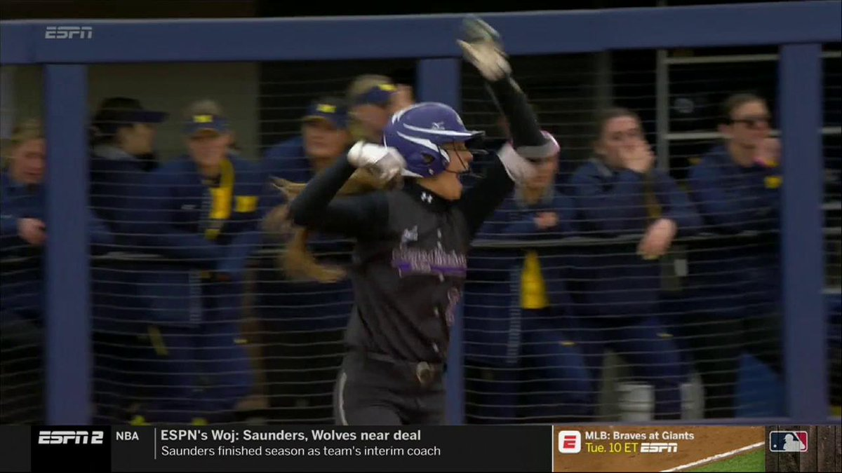 NCAA Softball's photo on Megan Good