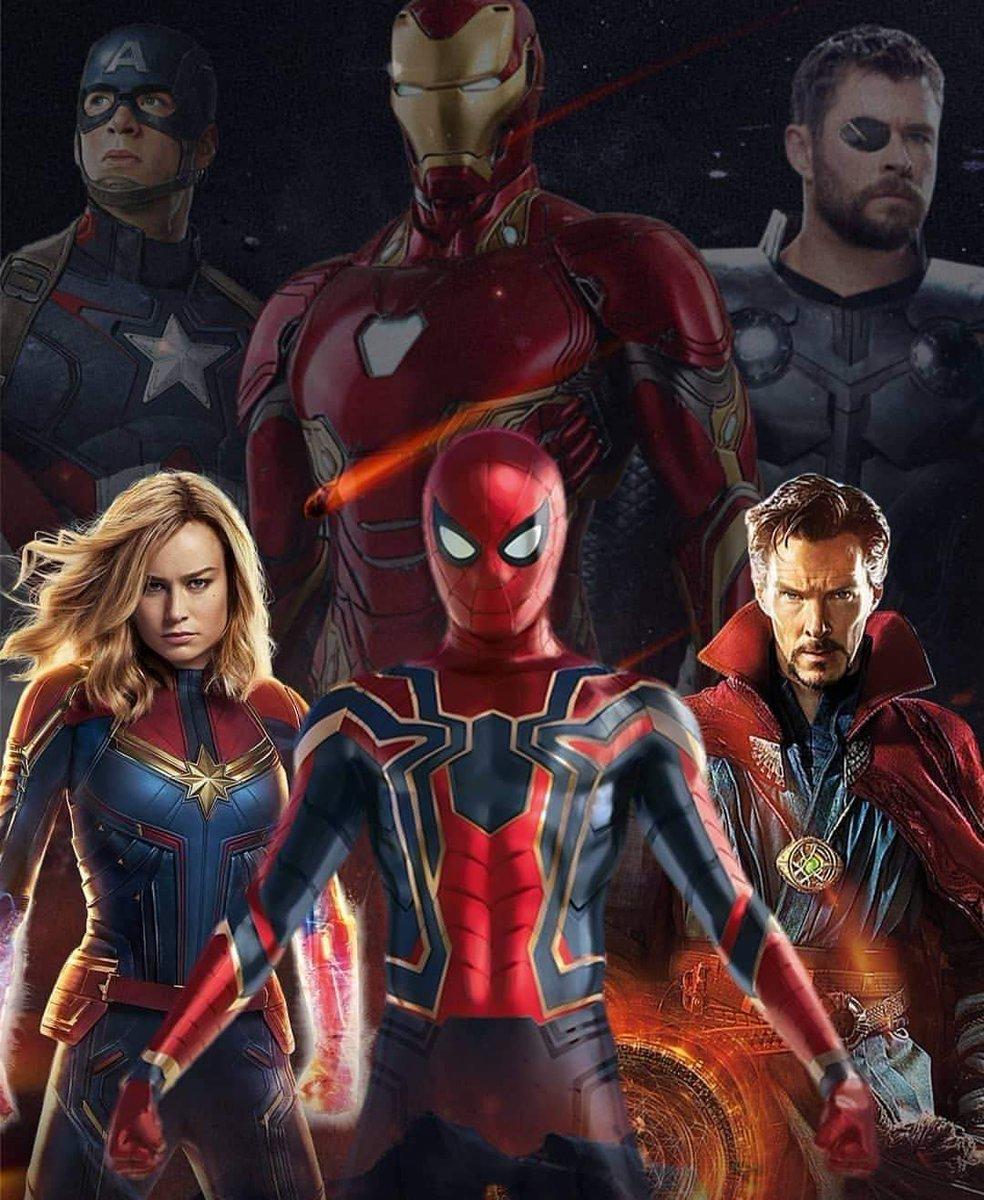 The Future upon Us! 👌 #CaptainMarvel #SpiderMan #doctorstrange #Avengers