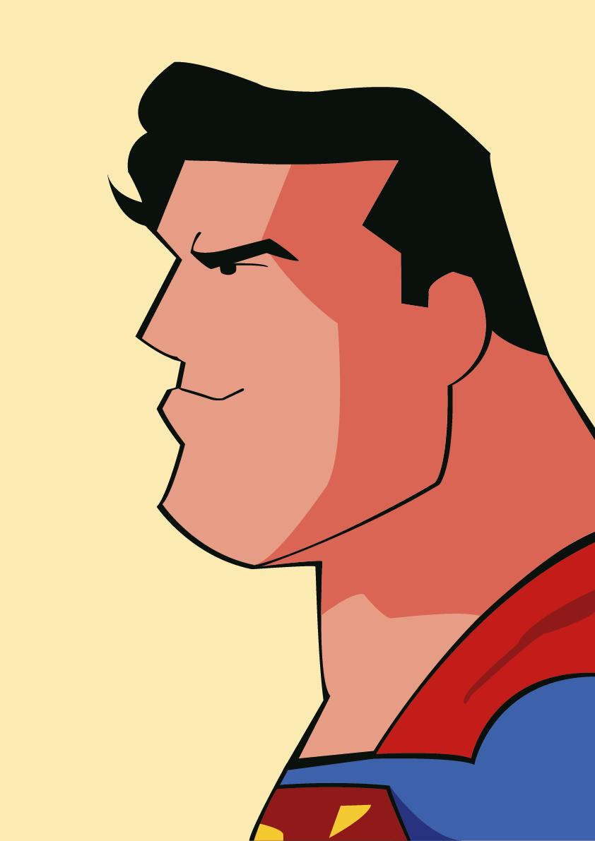 """""""And the milkshakes are so thick you need to eat them with a spoon"""" #Superman #DCAU #FANART #JusticeLeague #dccomics #drawing #JusticeLeagueUnlimited"""