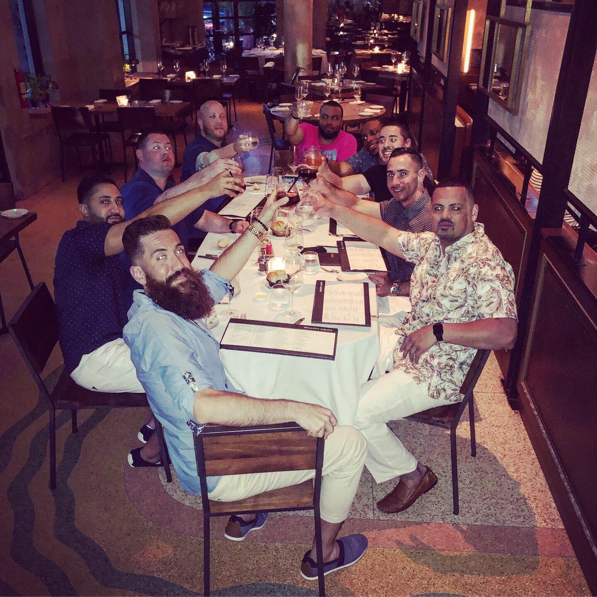 Celebrating the primos bachelor party #southbeach #miami #slspoolparty #oceandrive #qualitymeats #Goodtimes #BachelorParty
