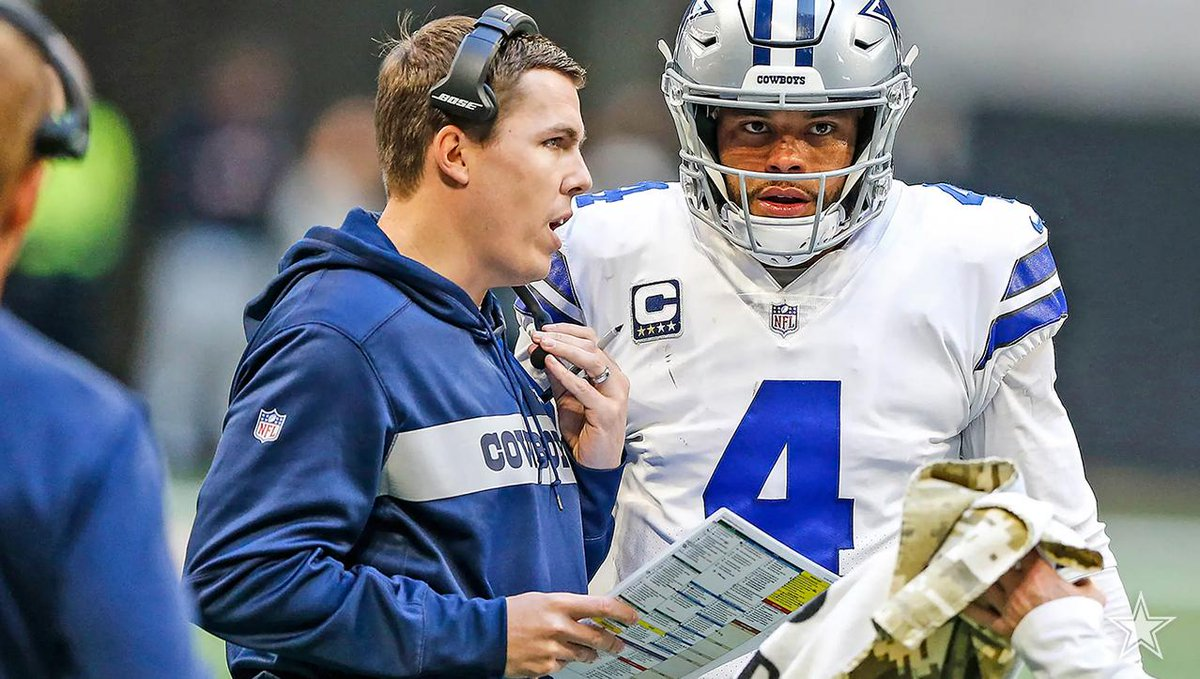 While their relationship has changed in a rather short time, enough has transpired for Dak Prescott to have complete respect for Kellen Moore as his new offensive coordinator. 📝 bit.ly/2Jv7N8o