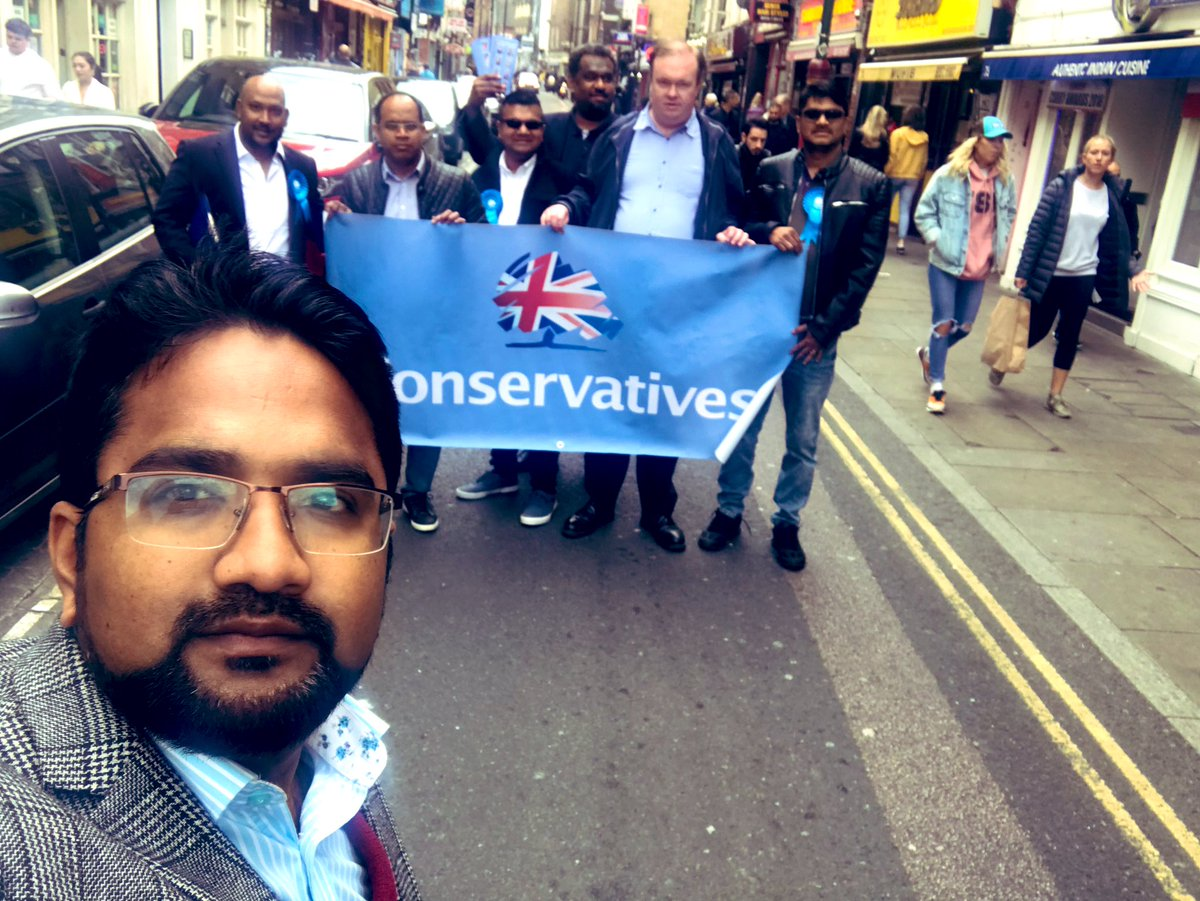 Thank you to #Bricklane for a warm welcome and kind words of support for #EP2019   #VoteConservative on 23 May 2019 https://t.co/QEYjV1DgP1