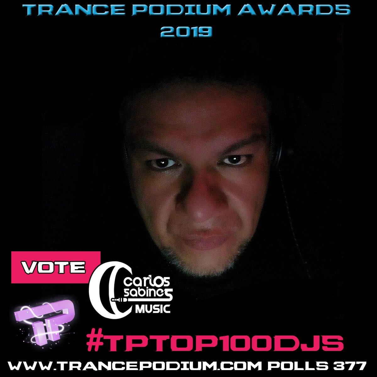 No se les olvide votar por mí ¡¡Por favor!!  ➡️ http://www.trancepodium.com/polls/377 #TPTOP100DJS #Gracias #Thankyou  #TrancePodium #TranceFamily #Trance #RT #DJLife #CarlosSabines